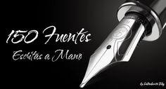 Pack_150_Fuentes_Escritas_a_Mano_by_Saltaalavista_Blog