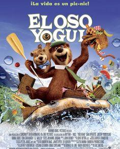"""Carátula da peli """"El oso Yogui"""". Clica na imaxe para consultar dispoñibilidade"""