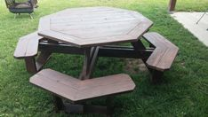 Octagon Walk-in Picnic Table