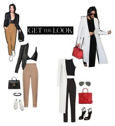 """""""Get the look with Kendall and Kylie"""" by mollyhatch ❤ liked on Polyvore featuring Bottega Veneta, Balmain, adidas, Gucci, Dolce&Gabbana, Alice + Olivia, Yves Saint Laurent, Ray-Ban, Polo Ralph Lauren and GetTheLook"""