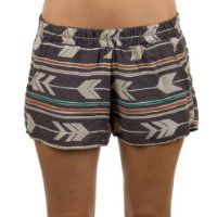 Billabong Women's Westerly Shorts Off Black Large
