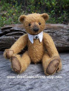 Patrón de oso PDF Teddy Edwards vintage de 8 por BearlissimoBears