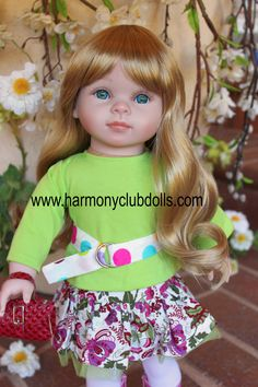 "HARMONY CLUB DOLLS 18"" Doll fashions to fit American Girl Dolls <a href=""http://www.harmonyclubdolls.com"" rel=""nofollow"" target=""_blank"">www.harmonyclubdo...</a>"