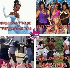 Girls act like this…