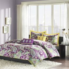 on pinterest yellow bedding sets comforter sets and purple bedding