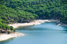 Diez playas de agua dulce en España