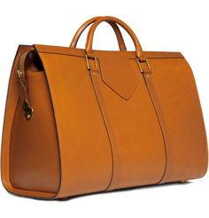 Swaine Adeney BriggLarge Bridle Leather Holdall Bag