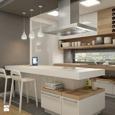 Consider Installing Kitchen Islands To Go With Your Unique Kitchen Design – Home Dcorz Kitchen Room Design, Modern Kitchen Design, Kitchen Layout, Home Decor Kitchen, Interior Design Kitchen, Kitchen Furniture, New Kitchen, Modern Design, Kitchen Designs