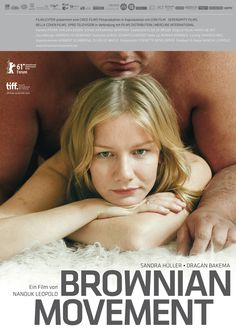 Sandra Hüller on the poster for the Dutch film BROWNIAN MOVEMENT (2010)