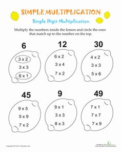 Printables Second Grade Multiplication Worksheets 5 grade worksheets multiply minutes drill printable multiplication for 3rd third simple lemons