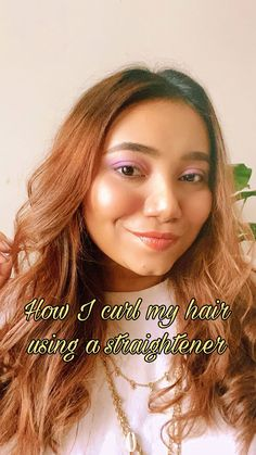 This is a very easy tutorial that explains the step by step process of curling your hair using a straightener. It also has bonus tips to make your hair look more voluminous and puffy Club Fashion, Only Fashion, Song Suggestions, How To Curl Your Hair, Club Style, What's Trending, How To Remove, How To Make, Curling