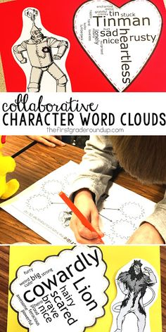 Learn character traits with these engaging and collaborative wordles! Perfect for our Wizard of Oz mini-unit!
