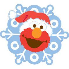 Elmo Christmas, Sesame Street Christmas, Wonder Man, Oscar The Grouch, Winter Birthday, Tweety, Snowflakes, Spiderman, Cool Designs