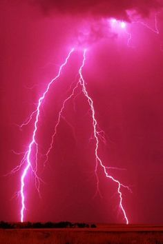 PINK LIGHTNING whether edited or not, that's beautiful and it's my fave color! ;D