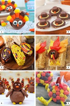 Cute Reese's recipes for Thanksgiving