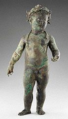 Statue of the Infant Cupid, Roman, A.D. 1-50