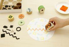 TORAFU ARCHITECTS : 紙のスタンプキット | Sumally