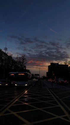 night photography evening sky city vibes
