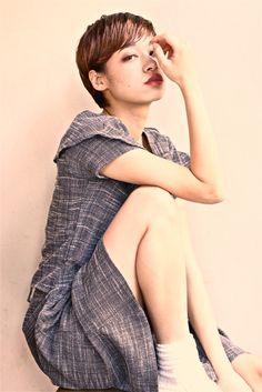 DECO hAir  satoshi hozumi High Neck Dress, Deco, Hair, Dresses, Fashion, Turtleneck Dress, Vestidos, Moda, Fashion Styles