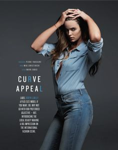 Duh. This needs to happen. Like, now.  robyn gq shoot1 Robyn Lawley is Seductive in Denim for GQ Spread by Pierre Toussaint