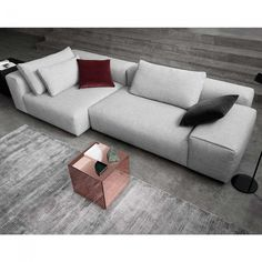 Raft L-Shape Sofa by Wendelbo | Clickon Furniture