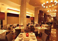 CityZen Restaurant in Washington, DC.  Fabulous tasting menu and wine pairings.  Excellent service.  Inside the Mandarin Oriental Hotel.
