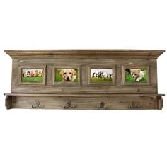 Antiqued Handcrafted Weathered Wooden Family Album Picture Frame Coat Rack - Overstock™ Shopping - Great Deals on Casa Cortes Photo Frames & Albums Standing Coat Rack, Vintage Umbrella, Bent Wood, Family Album, Wall Hanger, Decorative Accessories, Picture Frames, Antiques, Furniture