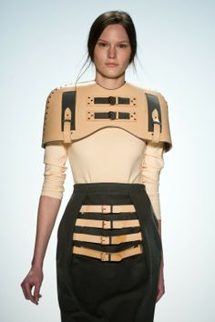 Marina Hoermanseder. strapped down. #mizustyle