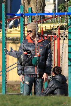 Jared Padalecki Packs On The PDA With His Wife & Shows Off His Cute Son | 13 | Socialite Life
