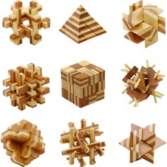 Smart wooden toys (Puzzles)