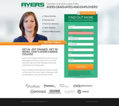"""WordPress Landing Page (1 Page) to support TV Campaign """"AskAyers"""" by Enigma Creatives"""