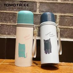 FDA Cartoon cute Cat vacuum flask thermos cup travel coffee mug 350ml thermos vacuum pot water bottle mugs thermos flask Tumbler-in Vacuum Flasks & Thermoses from Home & Garden on Aliexpress.com | Alibaba Group