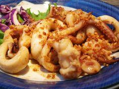 Garlic Squid Recipe