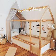 Olli Ella See-ya Suitcase in this whimsical kids bedroom Big Girl Bedrooms, Little Girl Rooms, Girls Bedroom, Toddler Rooms, Toddler Bed, Infant Bed, Baby Zimmer Ikea, Boy Room, Kids Room