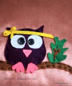 keçe, baykuş, owl