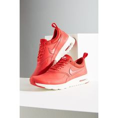 a2f77bee343e4 Nike Air Max Thea Premium Sneaker ( 80) ❤ liked on Polyvore featuring shoes