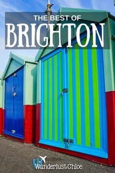The Best Of Brighton, England. With its fiercely independent spirit, buzzing foodie scene and an old-time English seaside charm, it's easy to see why Brighton is one of the most popular day trips from London. https://www.wanderlustchloe.com/brighton-things-to-do/