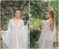 362c9362a7cd1 Bohemian Lace Kaftan Dress