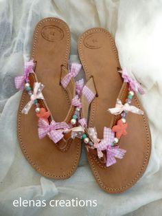 Χειροποίητα σανδάλια/woman summer sandals