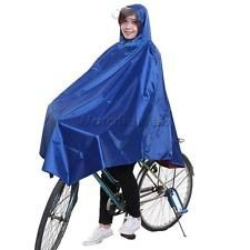 Cycling Bike Motorcycle Waterproof Raincoat Rain Cape Poncho