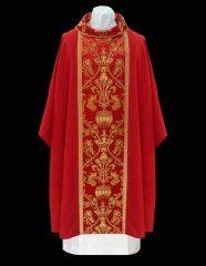 Chasuble 20-2361 V Red