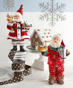 """Department 56 Possible Dreams """"Bon Appetite"""" Santas 2013 www.department56.com shop.department56.com"""