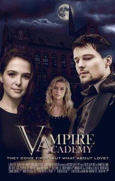 Vampire Academy: Blood Sisters fan art featuring Zoey Deutch as Rose Hathaway, Lucy Fry as Vasilisa Dragomir and Danila Kozlovsky as Dimitri Belikov.