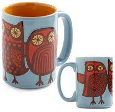 Modcloth: Owl Ready to Go Mugs