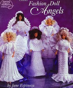 Angel Outfits for Barbie Free Crochet Pattern. Pattern found from Picasaweb via More Great Looks Like This