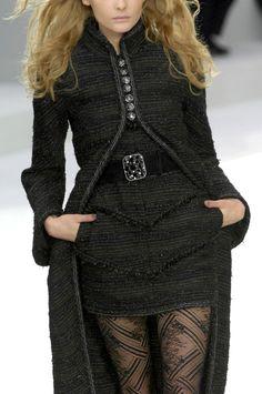 Chanel at Paris Fashion Week Fall 2008 - Details Runway Photos