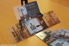 Design & Print Your Own Plastic Business Cards Online