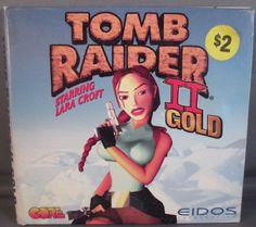 Tomb Raider II Gold  PC GAME 2 Discs EIDOS 1996 UNTESTED
