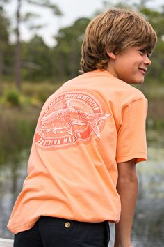 Go fishing for vibrant youth tees to prepare for Spring! #SouthernMarsh