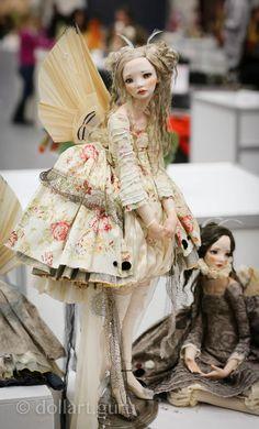 Butterfly. Art doll by Alisa Filippova